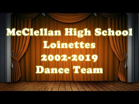 McClellan Magnet High School Dance Team last Football game Preformance