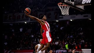 Olympiacos: 70 Dunks To Remember