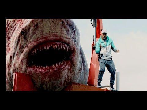 Нападение акулы (Мегалодон) - Мег: Монстр глубины (2018) - Момент из фильма
