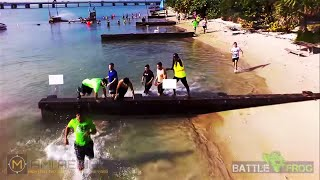 Battle Frog Mud Run - Aerial Coverage - Miami, Florida, Key Biscayne Beach Park