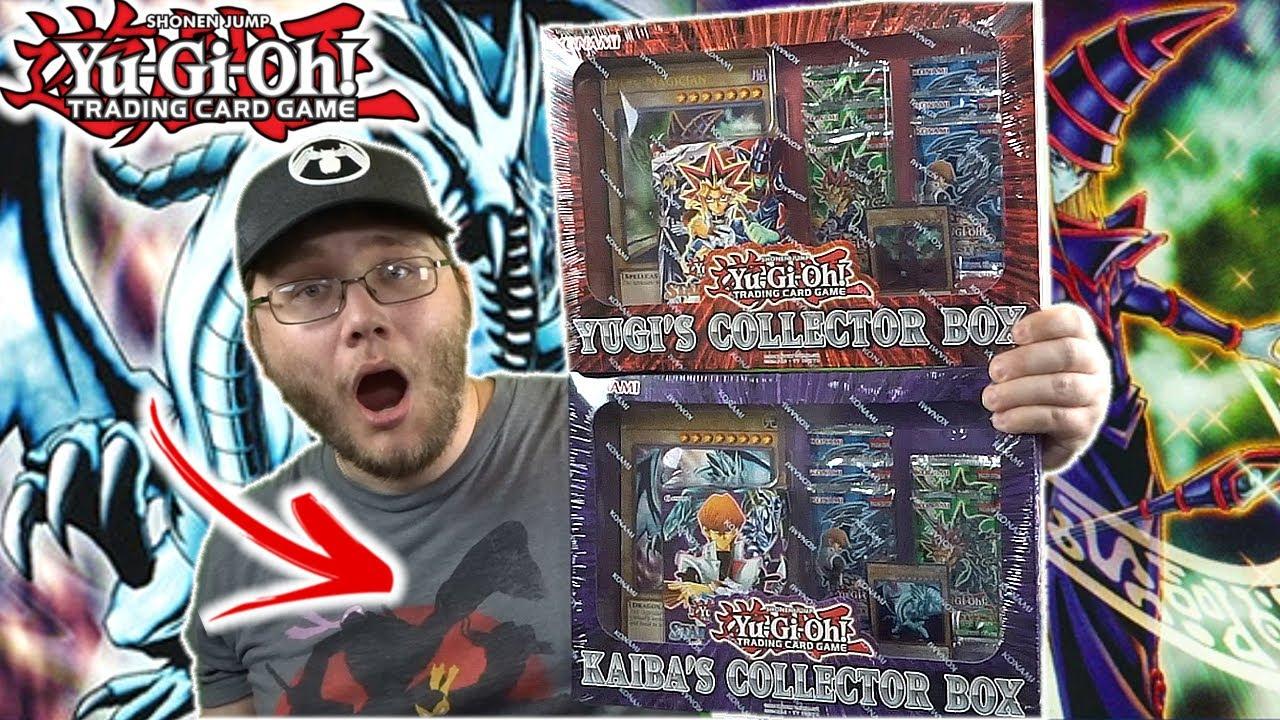 YUGI & KAIBA Collector Yu-Gi-Oh! Boxes! Dark Magician Vs Blue-Eyes!