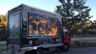 DIGITAL MOBILE BILLBOARDS / BILLBOARD TRUCKS - LIVE SPORTS