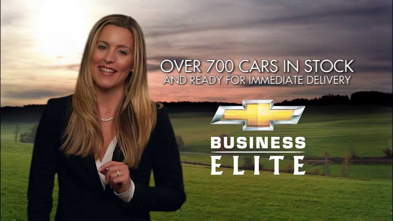 Chevrolet Business Elite Commercial Dealer Schumacher