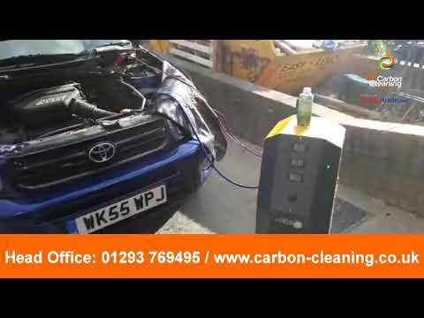 Toyota Rav4 vvti 2 stage engine carbon clean for catalytic converter cleaning