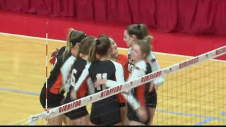 Illini Bluffs advances to volleyball state title game