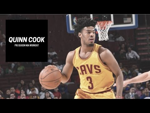 Quinn Cook NBA Pre-Season Workout With Pat The Roc