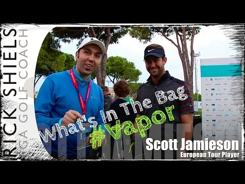 Scott Jamieson WITB at The Turkish Airlines Open 2014