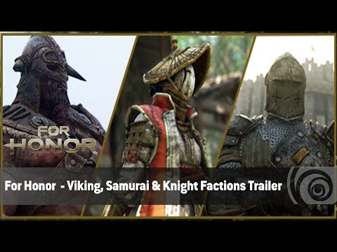 For Honor  - Viking, Samurai & Knight Factions Trailer | Ubisoft [DE]