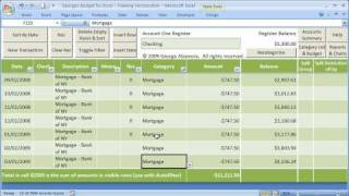 Personal Budget Software