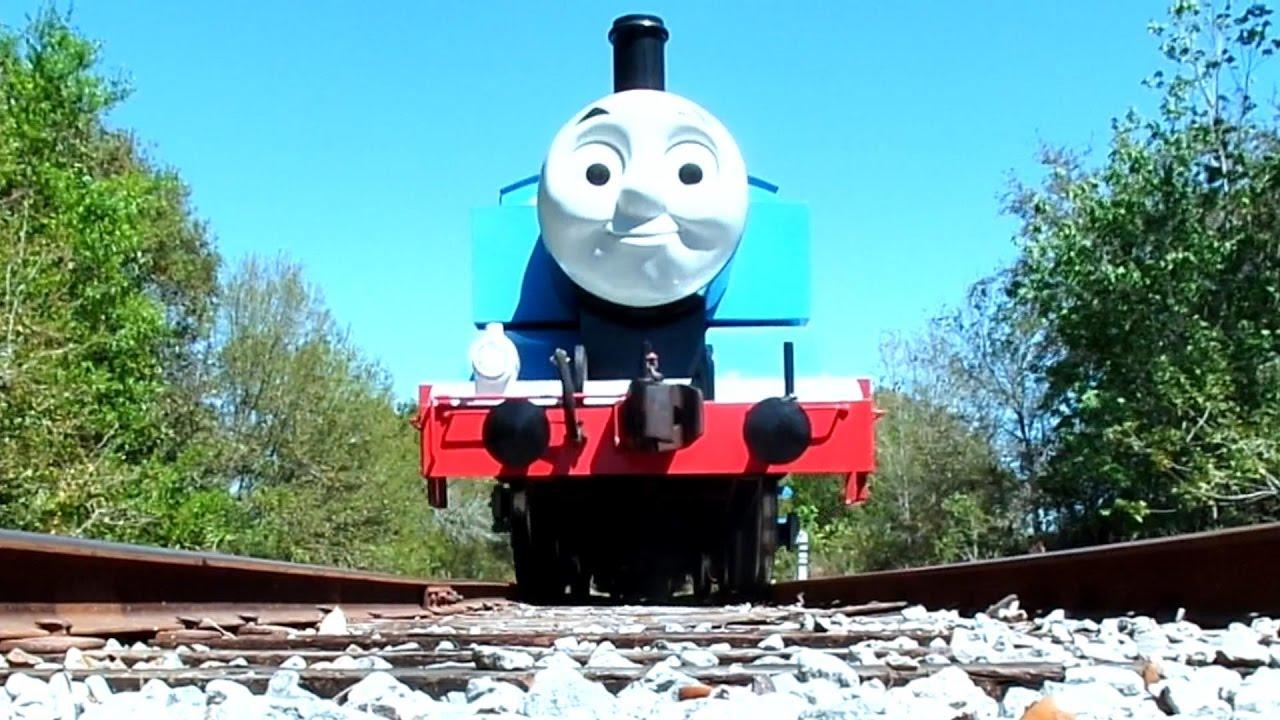 thomas  tank engine train smiles   runs   camera youtube