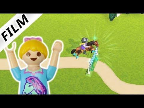 Playmobil Film Deutsch | Hannah Spielt Reiterhof App | Neue Pferde Und Hindernisse | Kinderserie