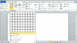 How to Draw a Super Bowl Grid in Word : Using Microsoft Word