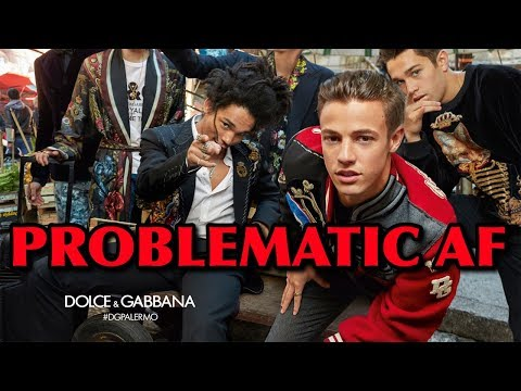 Why Dolce & Gabbana Is Problematic AF!!!