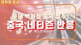 [네티즌 반응] 롯데 백화점 철수에 대한 중국 네티즌의 반응