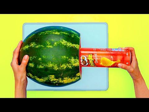26 FOOD DECOR LIFE HACKS | Genius fruit ideas you should know!