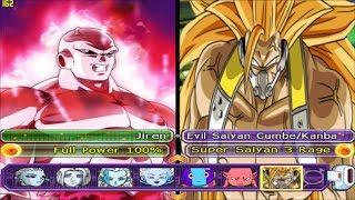 Jiren Full Power VS Cumber/Kanba Super Evil Saiyan 3 and Goku Sacerdote MUI - DBZ Tenkaichi 3 (MOD)