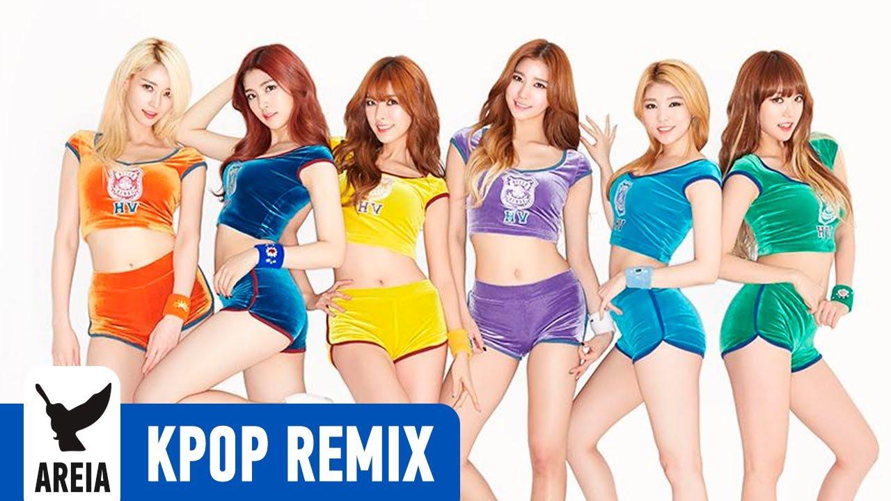 Hello Venus - Wiggle Wiggle | Areia Kpop Fusion #2
