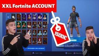 My XXL Fortnite locker!! Over 100 Skins (1500€) Fortnite Battle Royale Account