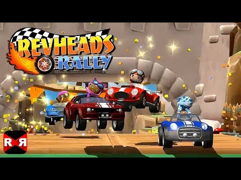 Rev Heads Rally (by Spunge Games) - iOS / Android - Gameplay Video
