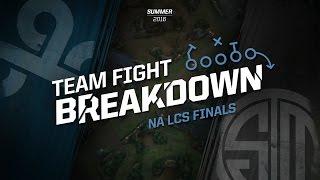 Team Fight Breakdown with Jatt: C9 vs TSM (2016 NA LCS Summer Finals)