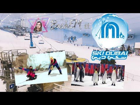 A Day in Ski Dubai! Experience snow in the Desert!