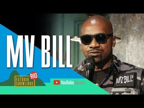 """""""Falcão"""" - MV Bill no Estúdio Showlivre no YouTube Space Rio 2017"""