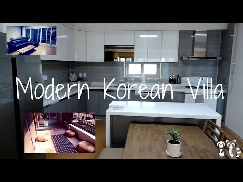 MODERN KOREAN APARTMENT (VILLA) TOUR!