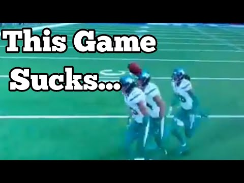 Madden NFL Football 21 Sucking For 8 Minutes |
