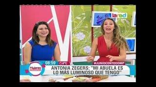 La historia de la trayectoria de Antonia Zegers