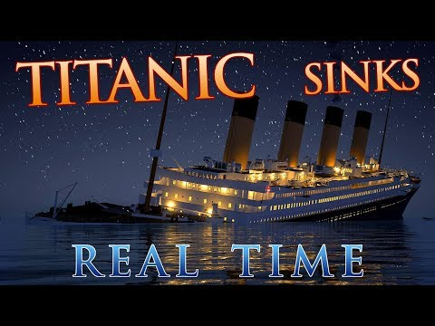 New CGI of How Titanic Sank   Titanic 100