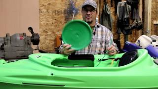 How To: Easy 10 Minute Sundolphin Kayak HDPE crack and hole repair