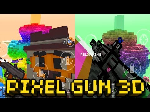 All Guns and Reload Animation | Pixel Gun 3D