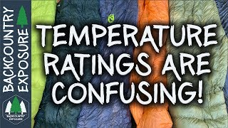 Understanding Sleeping Bag Temperature Ratings!