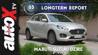Maruti Suzuki Dzire Long Term Review : June 2018 | autoX