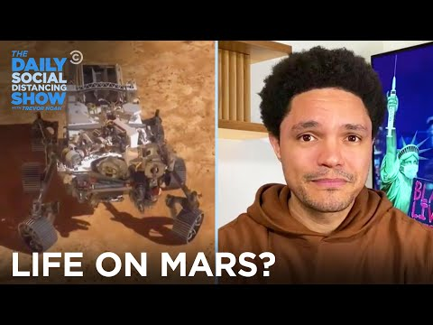 NASA's Perseverance Rover Looks for Life on Mars | The Daily Social Distancing Show
