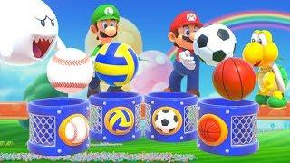 Super Mario Party - All Sport Minigames