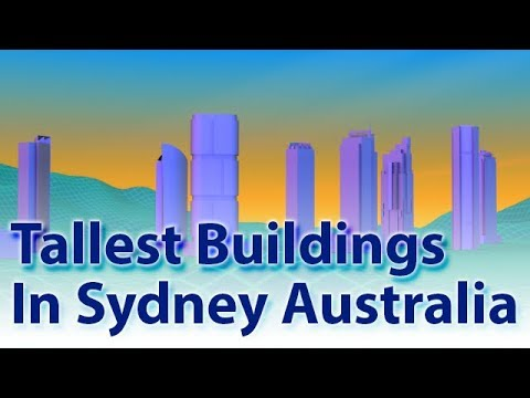 Tallest Buildings In Sydney Australia (2018)