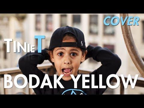 Cardi B - Bodak Yellow (Cover by 6 year old Tinie T) | MihranTV