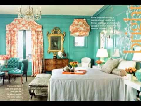 DIY Turquoise room decor ideas - YouTube