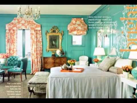 DIY Turquoise room decor ideas - YouTube