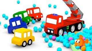 Cartoon Cars - Fire Truck PARTS! - Cartoons for kids - Videos for kids - Kids Cartoons