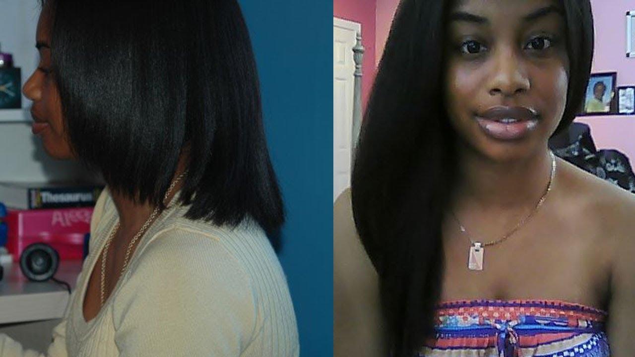My Updated Hair Regimen Shouder Length Mid Back Length