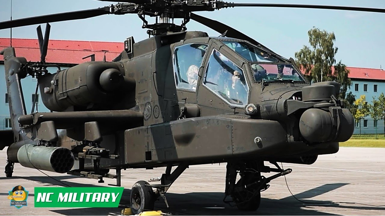 US Military News • CAB Soldiers Take to the Sky for the First Time in an AH-64 Apache Helicopter