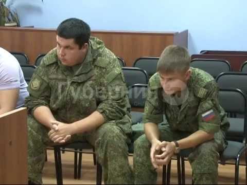 Контрактники пытались воспитать дисциплину среди солдат, окуная их головой в унитаз. GuberniaTV