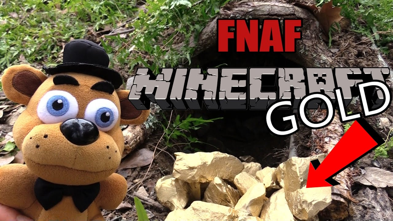 Download FNAF Minecraft plush 20- Finding Gold !!!!!