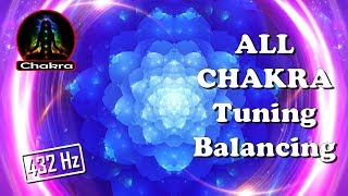 INTENSE ALL CHAKRAS (21 minutes of intense Chakra tuning/balancing Simultaneously)