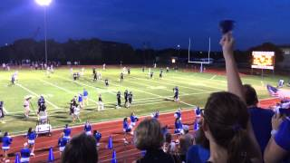 Evan Marshman TD pass to Blais Herman- SAS vs St.Dominic Savio