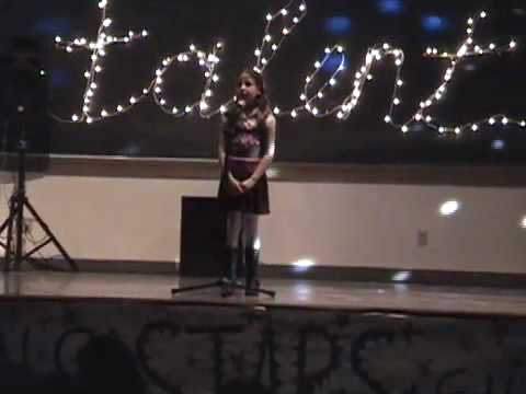 Ava Singing Reflections