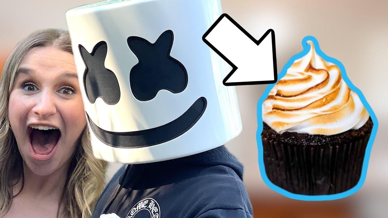 I Made A Cupcake For Marshmello...