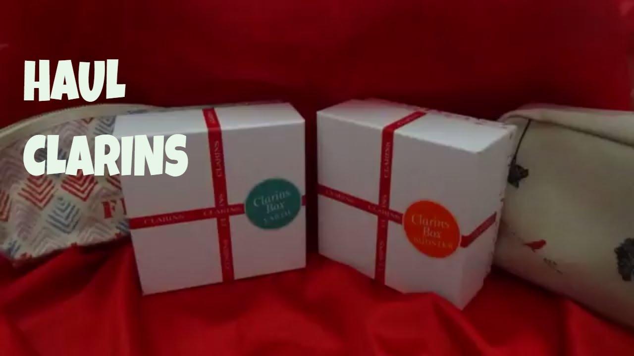 Clarins Haul September 2017 Earth Box Vs Booster Box Youtube
